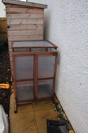 Mini Greenhouse after retrieval