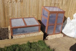 First Mini Greenhouse