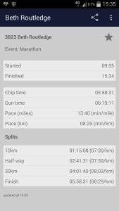 Brighton Marathon App Timesheet