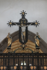 The Cross on the Rood Screen at St Margaret's Braemar