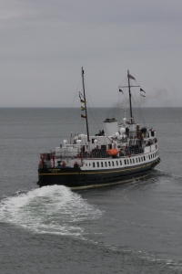 MV Balmoral returning to Liverpool from Llandudno.