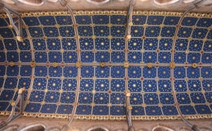 The Chancel Ceiling of Carlisle Cathedral.