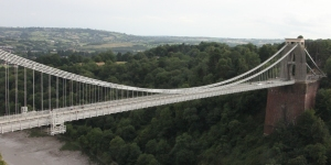 Clifton Suspension Bridge from the Clifton Observatory