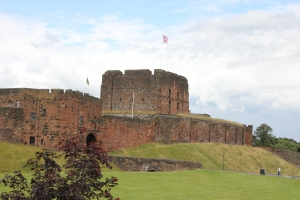 Carlisle Castle from the South East.