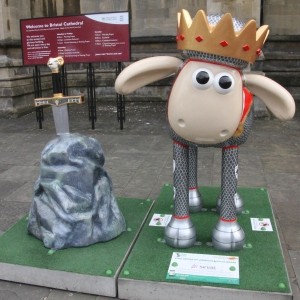 Shaun in the City – 25. King Arthur of Lambert & Excalibaaar