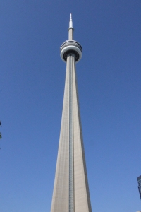 CN Tower from ground level