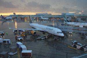 Icelandair B757 TF-FII (Eyjafjallajökull) at Toronto Pearson airport, Terminal 3, Stand C27.
