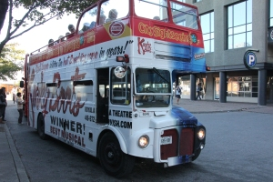 Ex-London Transport Routemaster at Toronto Harbour.