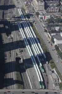 GO Transit trains