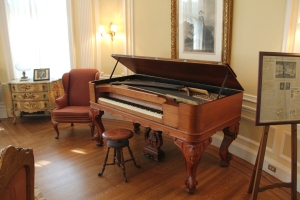 Piano in the Round Room