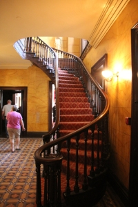 Main entrance hallway and staircase.