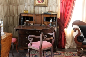Desk in McNab's bedroom