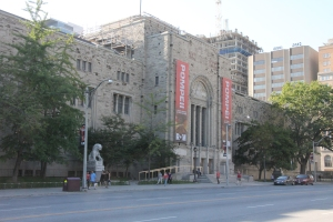 1930s frontage to ROM