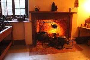 The Scullery fireplace