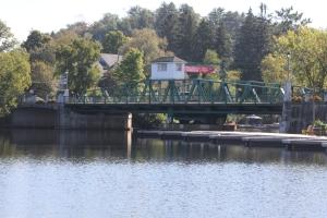 Swing Bridge over Muskoka River