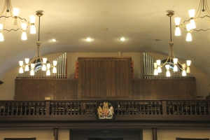 Main Organ on the west balcony