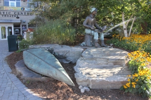 Memorial to Tom Thomson in Huntsville
