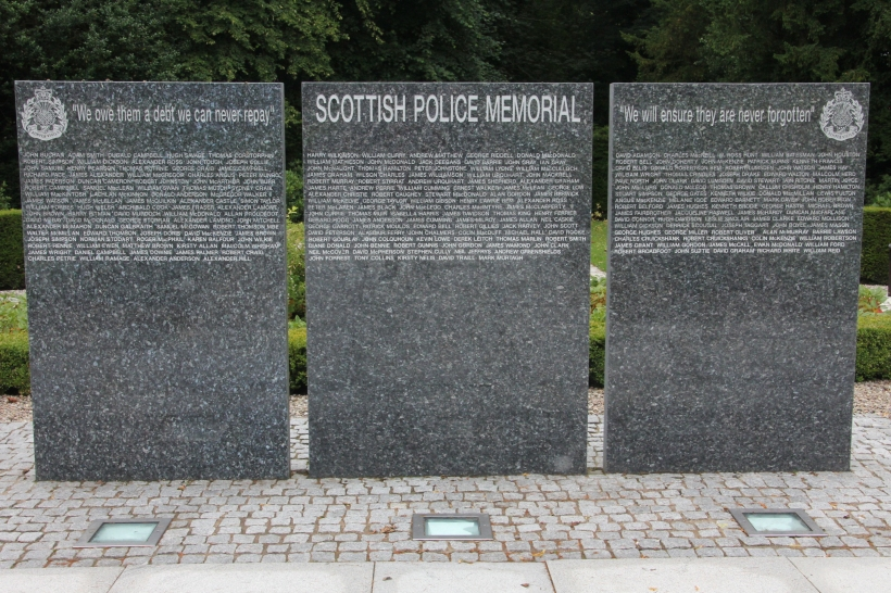 Scottish Police Memorial at Tulliallan Police College