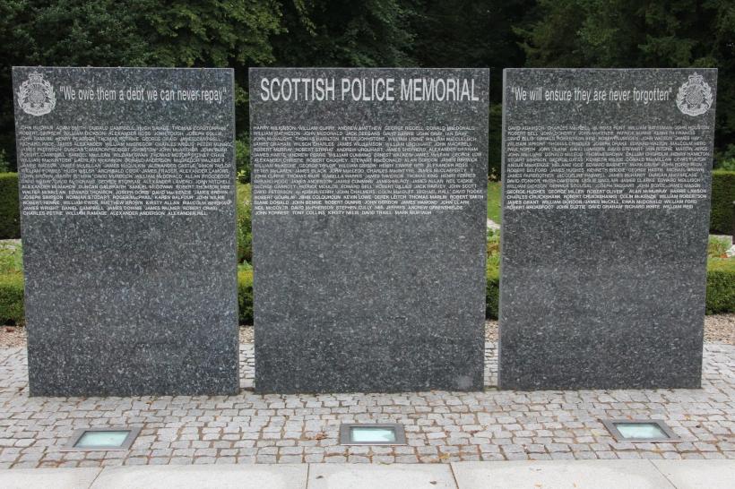 Scottish Police Memorial at Tulliallan Police College