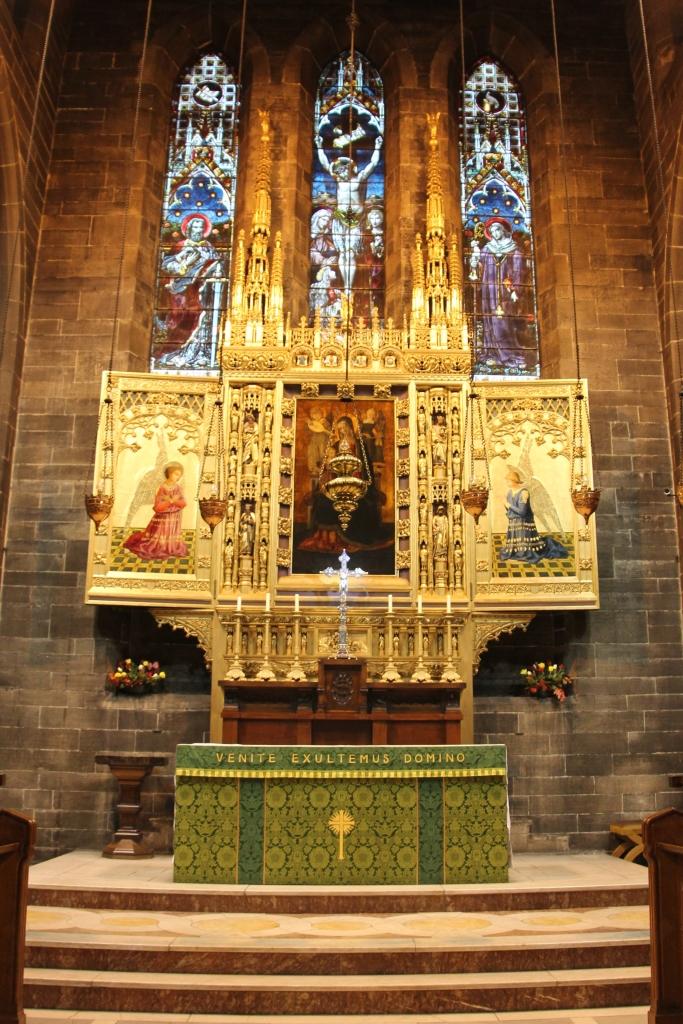High Altar of Old St Paul's, Edinburgh