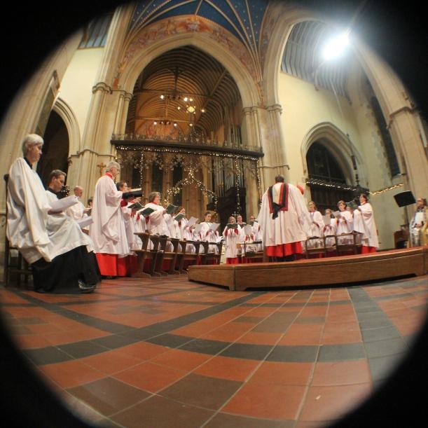 Chirstmas Carol Service at St Mary's