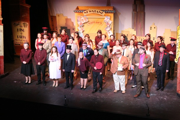 Curtain call on Guys and Dolls by TSP
