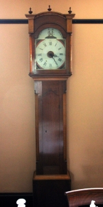 Long Case Clock at McFarland House
