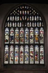 West Window of Rochester Cathedral.