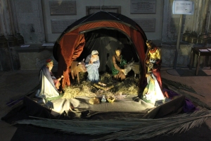 Rochester Cathedral Nativity Scene