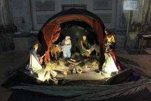 Rochester Cathedral Nativity Scene