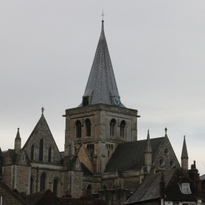 Rochester Cathedral Tower and Spire