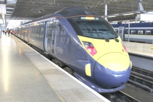 1027 train from St Pancras to Ramsgate, via HS1
