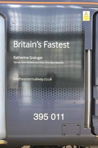Class 395 011 - Katherine Grainger at St Pancras