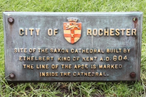 City of Rochester plaque