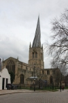 Chesterfield Parish Church from the south west