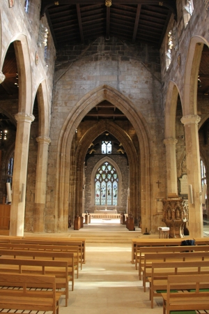 The Nave looking towards the High Altar