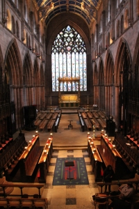 Organist's View of the Chancel