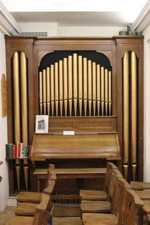 Organ in the chapel of Mary Sumner House
