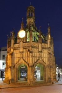 Evening at Chichester Cross
