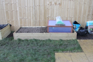 Cold Frame Bed (as built)
