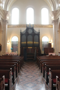 West end of St Thomas' Chapel with organ