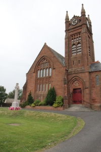 South face of Crosshouse Parish Church