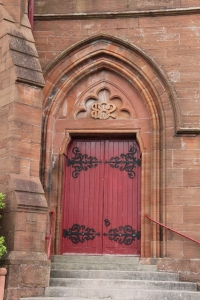 Main Door of Crosshouse Parish Church