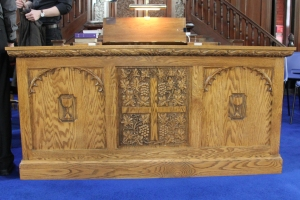 The Elizabeth Well Communion Table