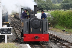 Kerr Stuart locomotive Diana at Llanuwchllyn