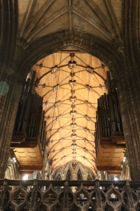Chancel roof at Glasgow Cathedral