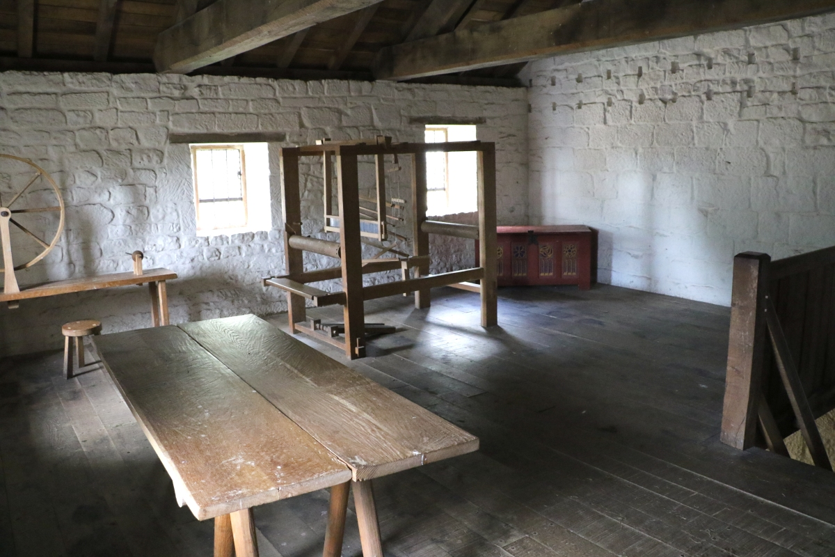 Upstairs Workroom in Cell 8
