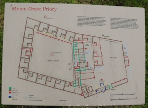 Plan of Mount Grace Priory