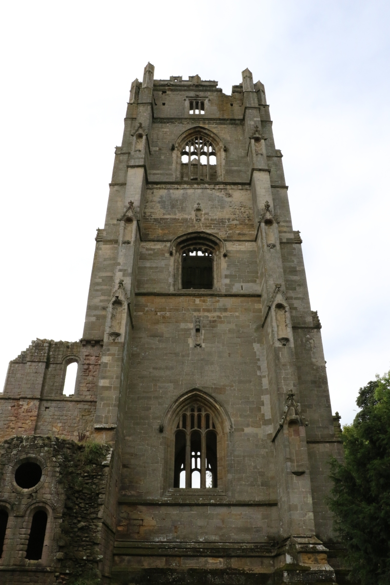 The Tower of Fountains Abbey