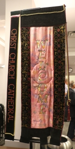 Christ Church Cathedral Welcome Banner